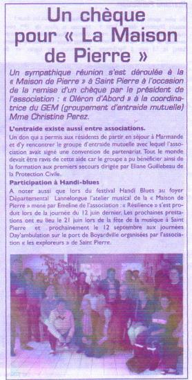 Le Littoral du 25 juin 2010