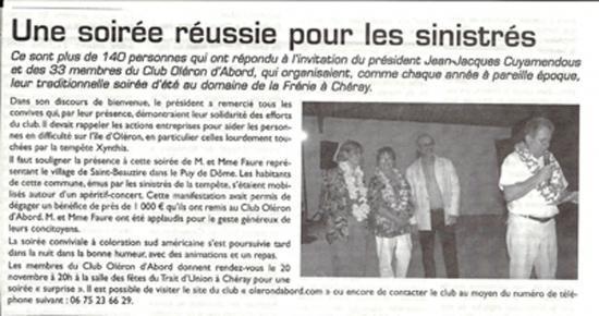 Le Littoral du 27 août 2010